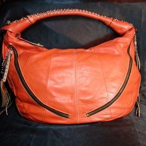 Yandy Leather Satchel Bag